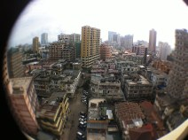 Dar -Es-Salaam city pie-eye view rooftop recording_db