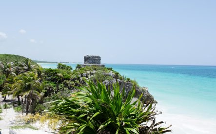 Tulum old city ruins