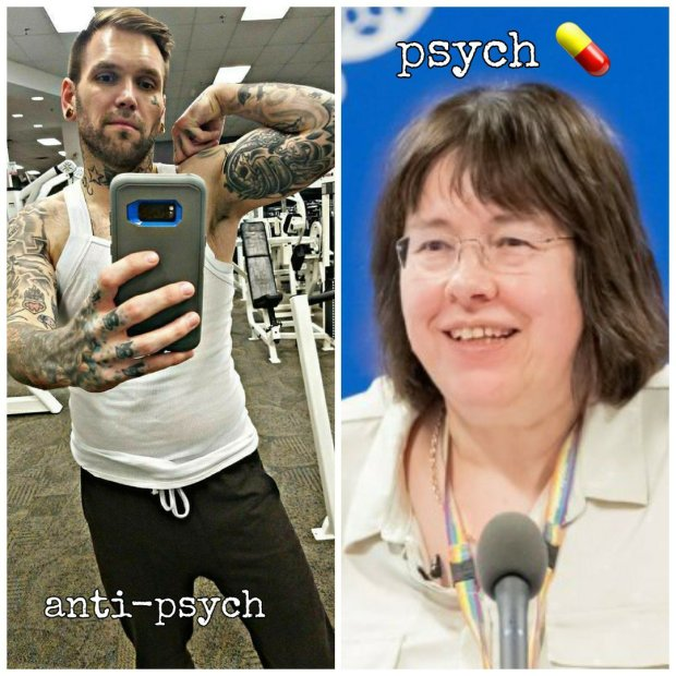 Truth is we cannot tell who is mentally ill and who is not by looking at pictures of their brain or analyzing their blood. Psychologists had to invent their own book of diseases because pathologists would have nothing to do with them.