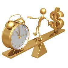 Resultado de imagen de tiempo dinero