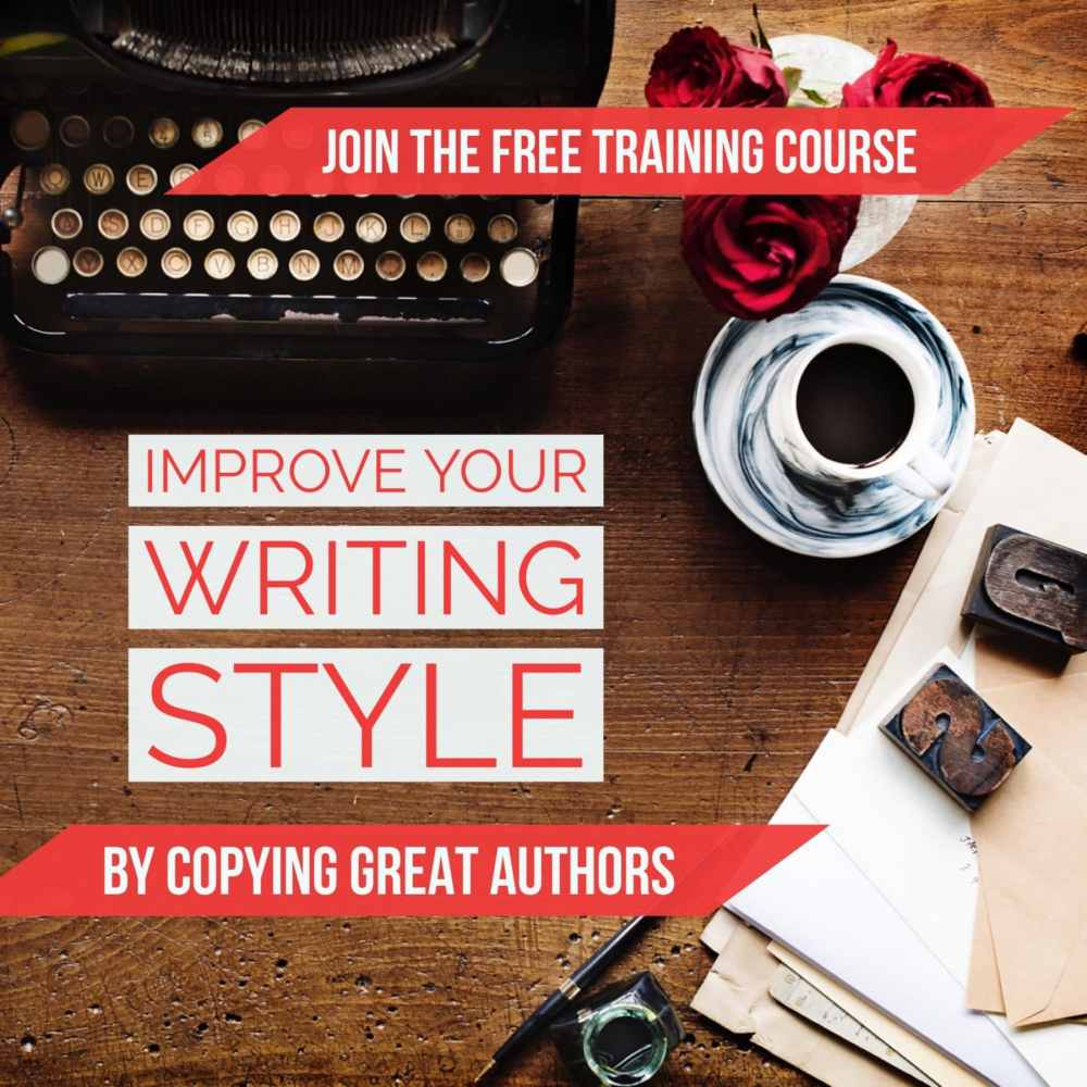 Improve your writing style a free course
