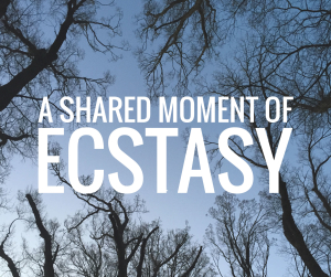 A shared moment of ecstasy