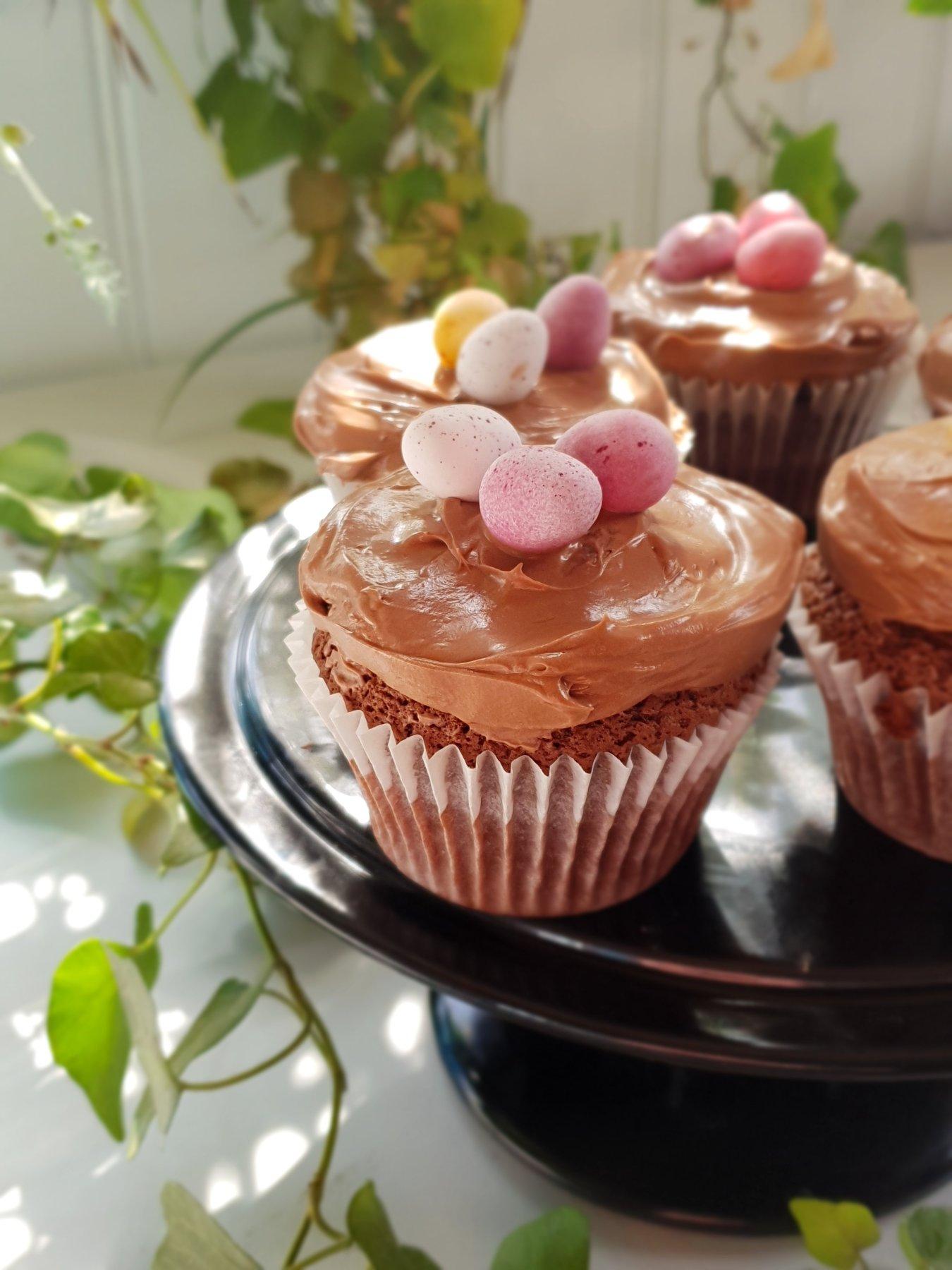 Easter Chocolate Cheesecake RecipesCupcakes