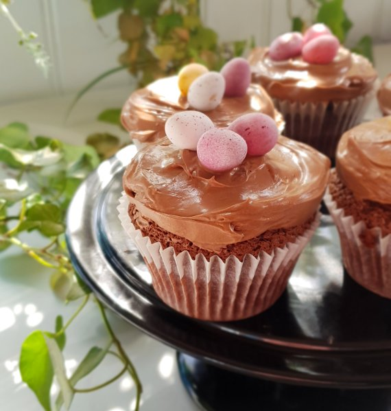 Easter Chocolate Cheesecake RecipesCupcakes
