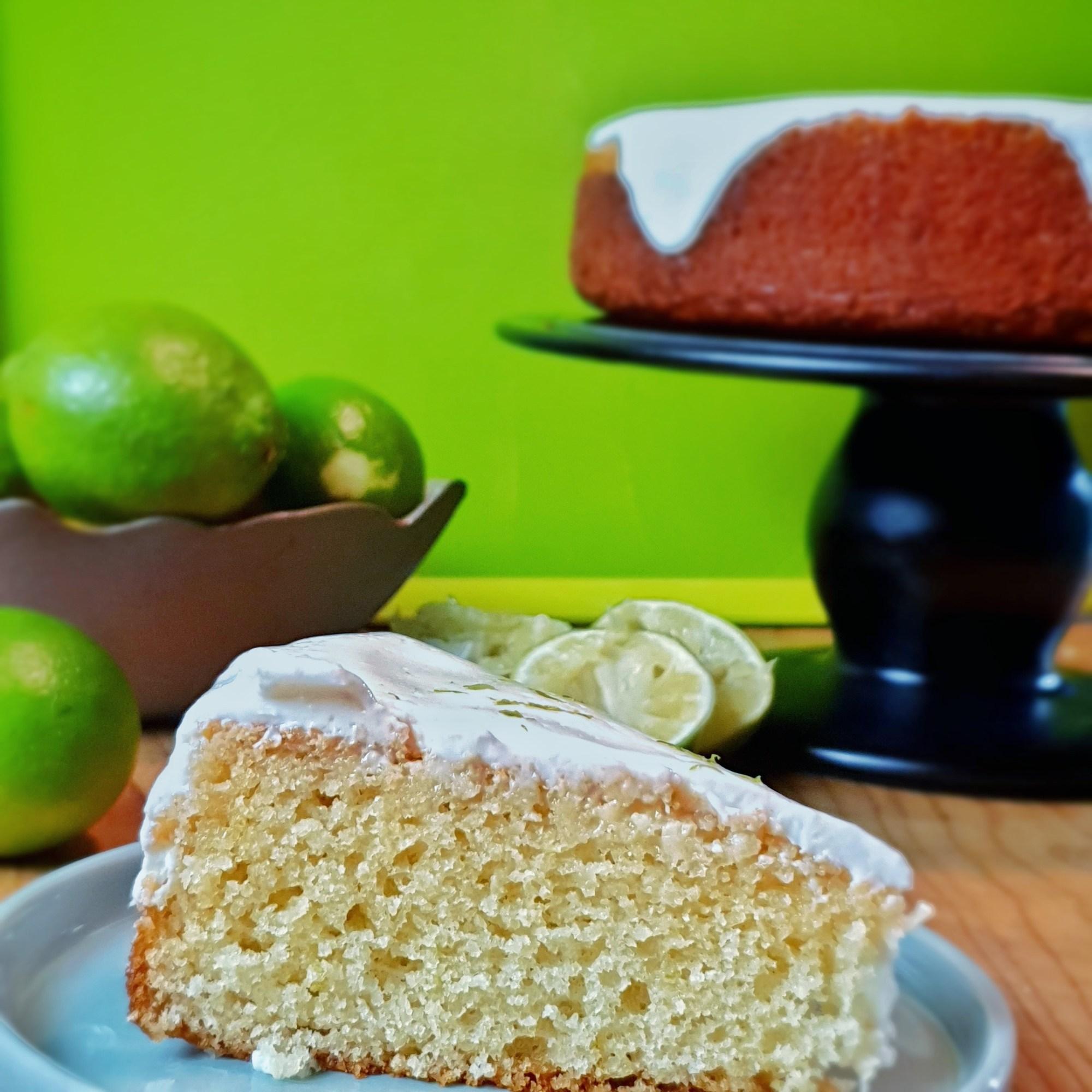 yoghurt and lime cake