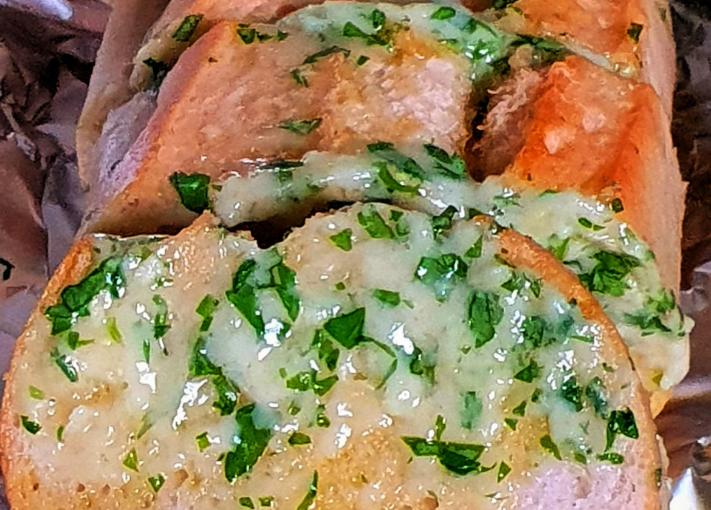 Chhesy garlic bread