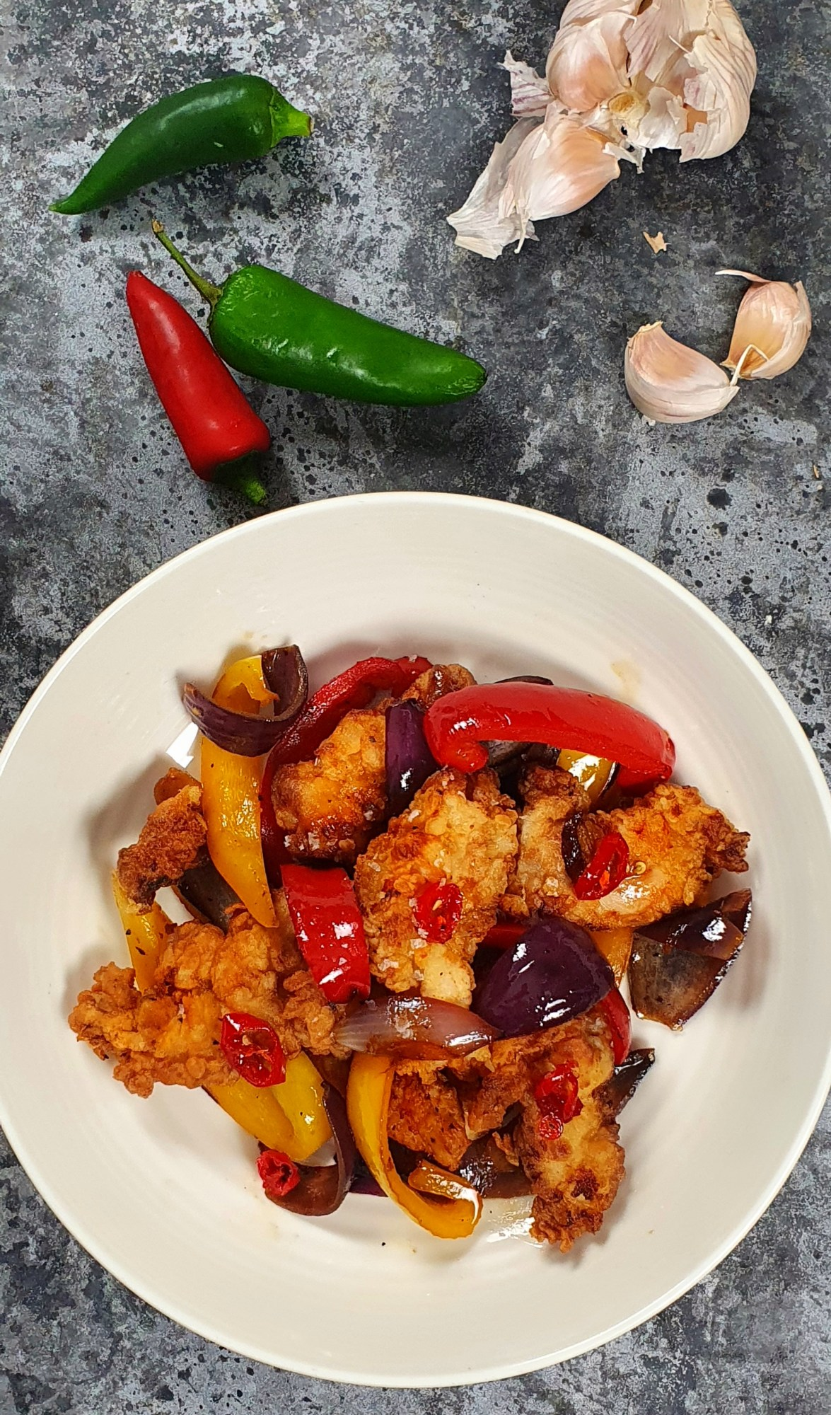 Salt and Chilli Chicken