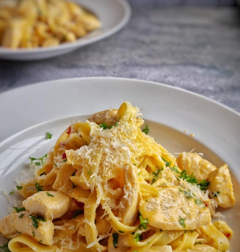 sweet chilli chicken pasta