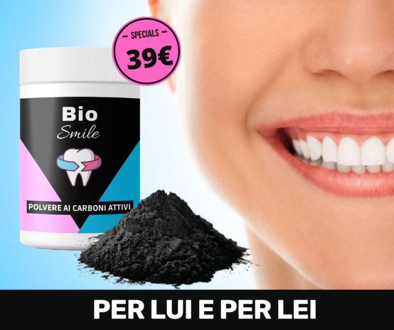 biosmile dentifricio ai carboni attivi