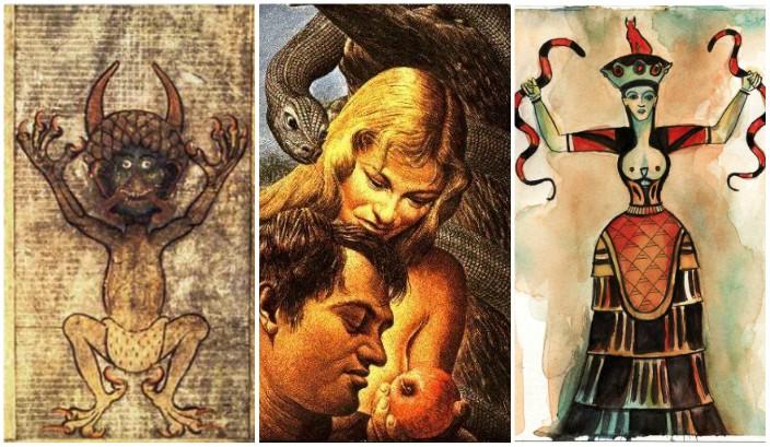 Il serpente dell'Eden non era il diavolo. Lo dicono teologi ed esegeti cattolici