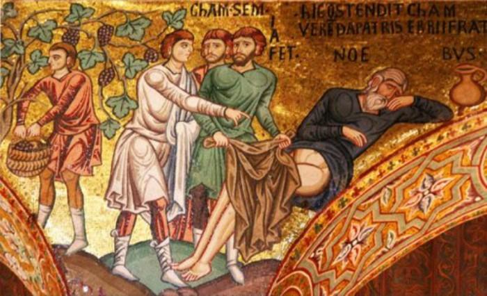 Il peccato di Cam contro Noè che è troppo scandaloso per essere spiegato
