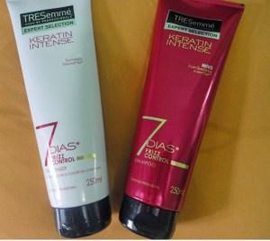 shampoo e condicionador treseme