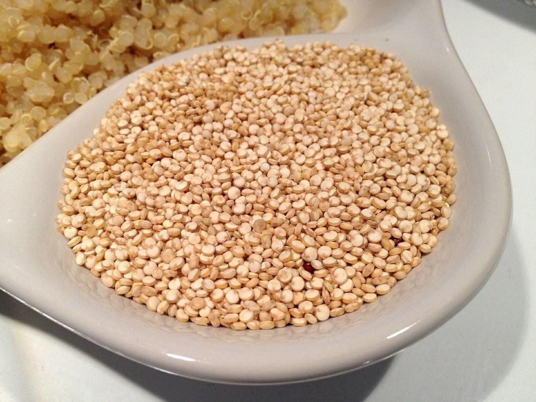 os benefícios da quinoa