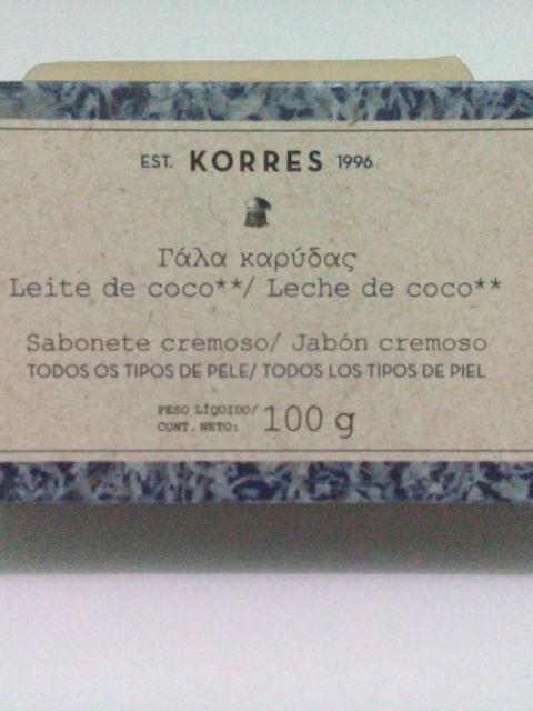 sabonete Korres