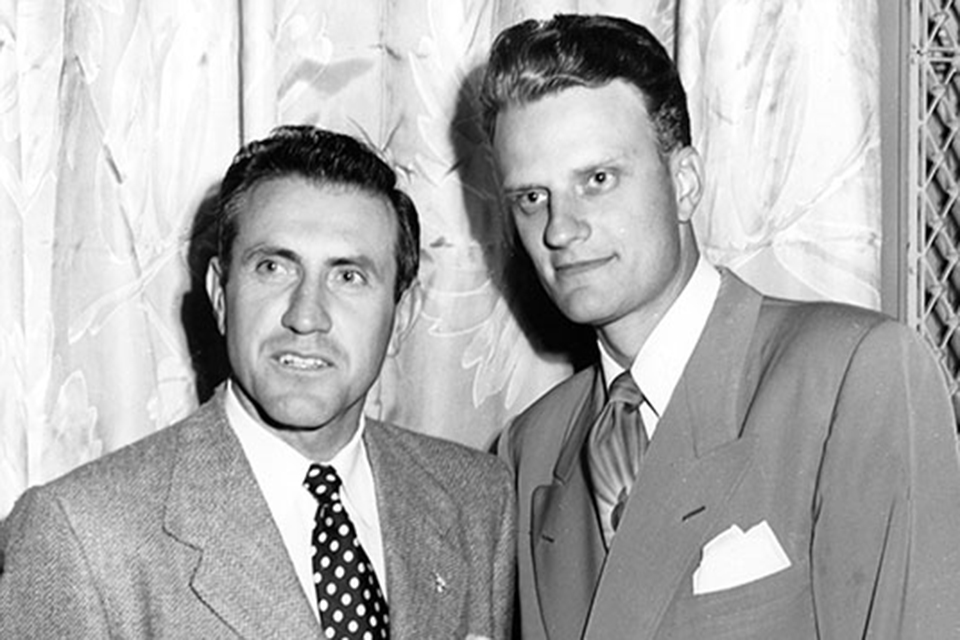 Billy Graham and Louis Zamperini