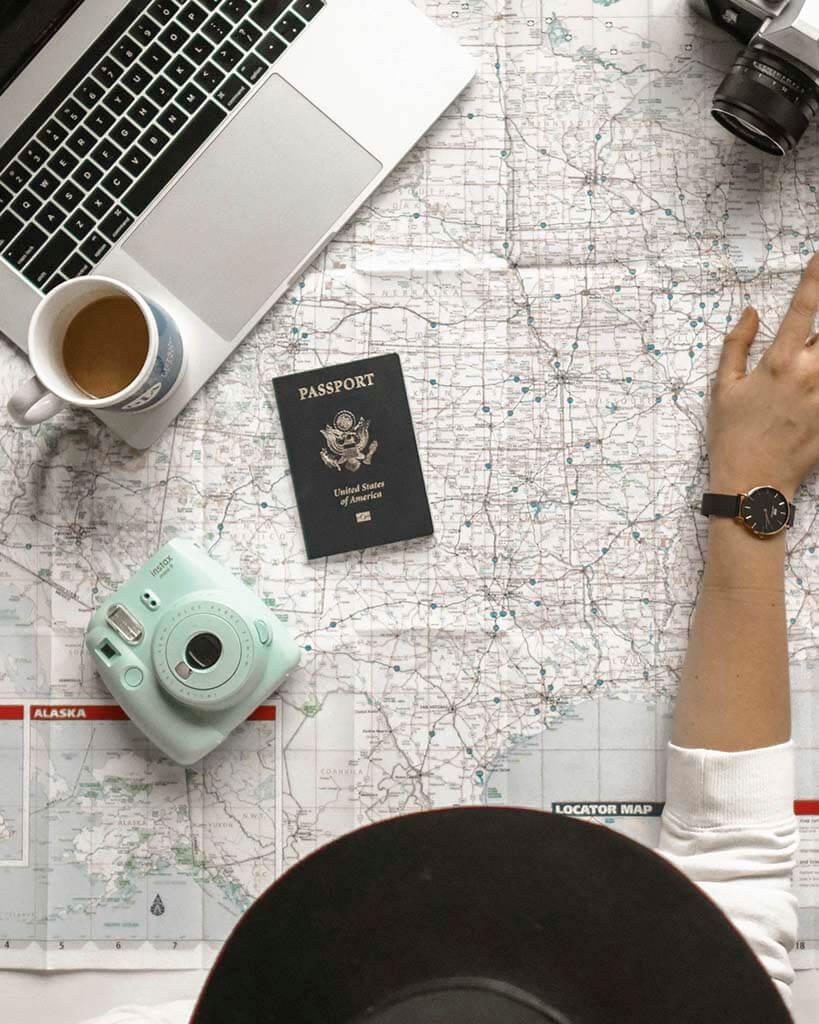 viagens, passaporte