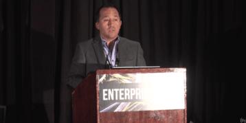 Daniel Elizalde at the Enterprise IoT Summit