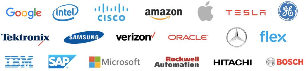 Companies who took Daniel Elizalde's IoT class