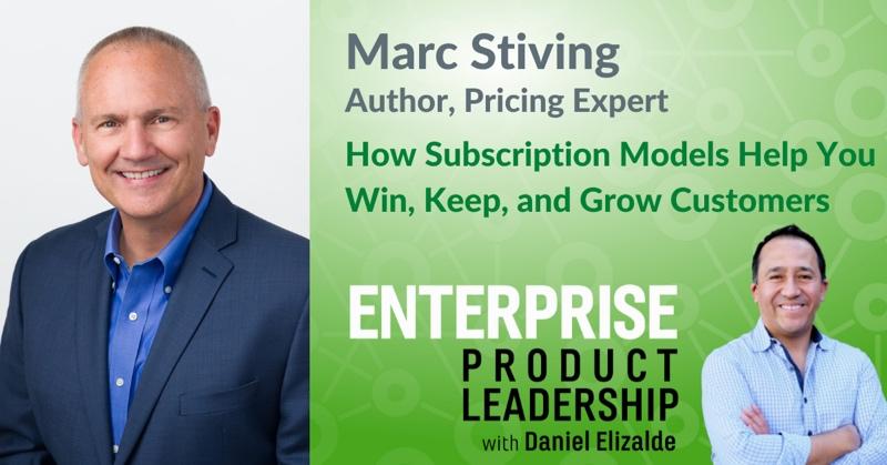 Enterprise Product Leadership - Subscription models - 800