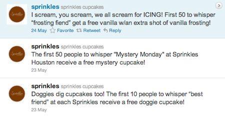 Twitter Sprinkles