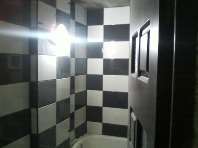 baie alb negru sah