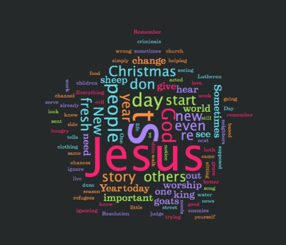 Seeing Jesus in Others - New Year's 2017 Sermon - Daniel ...