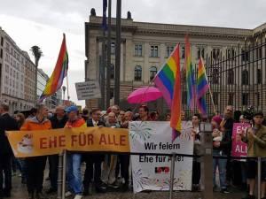 Die Ehe für alle kommt – auch der Deutsche Bundesrat macht den Wegfrei