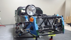 Headlight mounted
