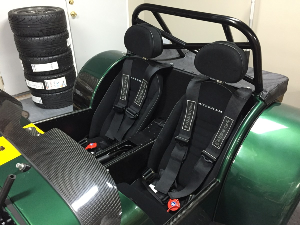 Seats and harnesses in