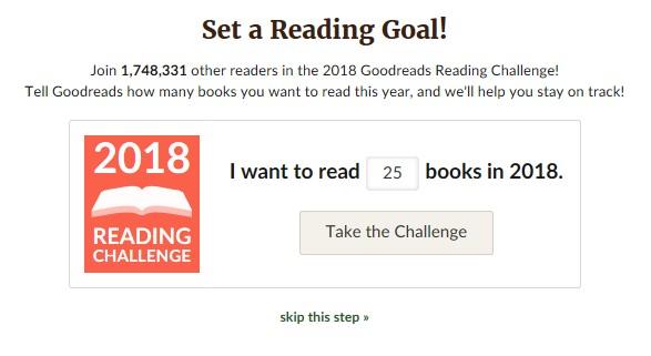 reading challenge reto lectura anual goodreads