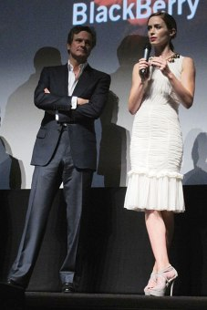 Colin Firth & Emily Blunt