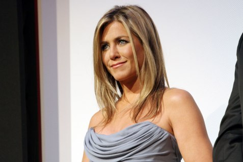Jennifer Anniston introduces Life Of Crime to a sold out crowd at Roy Thompson Hall