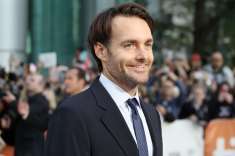 Will Forte, star of Life Of Crime, walks the red carpet