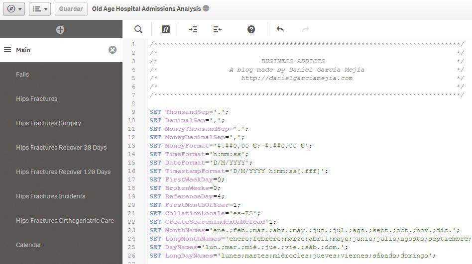 script etl qlik sense app