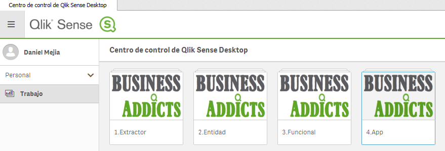 data layer overview apps qlik sense
