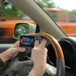 Cuidado si mandas mensajes mientras conduces