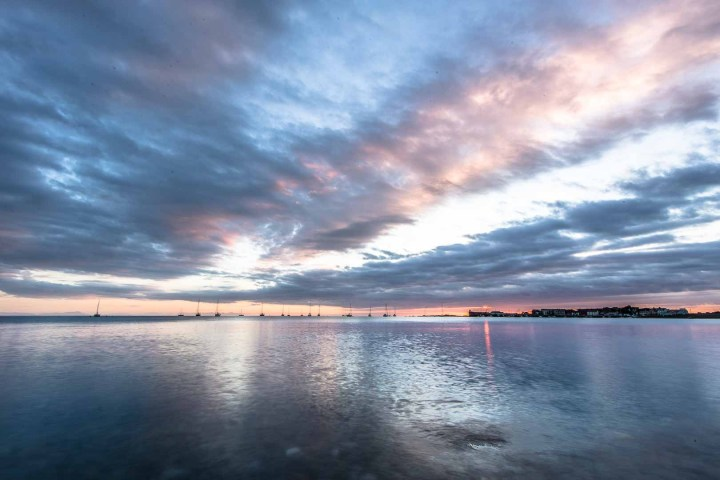 Skerries Harbour Sunrise Photograph