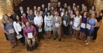 The 2015 Guelph Mercury 40 Under 40 Winners, including Corey Alexander, Oliver Cook, and Lee-Jay Cluskey-Belanger [photo credit: Guelph Mercury]