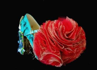 Cut-Up Sculpture Shoes Collection #5, 2015, size 39, unique piece