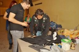 Daniel González D.G. Clothes Project, Portrait Fashion Factory, performance factory