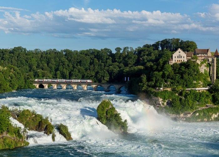 2 – Rhine Falls, Near Schaffhausen, in Northern Switzerland