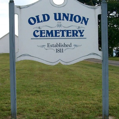 01 - Old Union Church and Cemetery - Gravesites of many Hastons, especially descendants of David Haston.