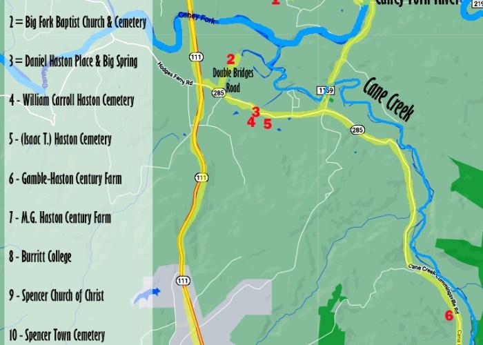Tour of Daniel Haston Family Historic Sites
