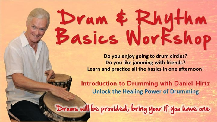 Drum and Rhythm Basics Workshop @ Daniel's Home