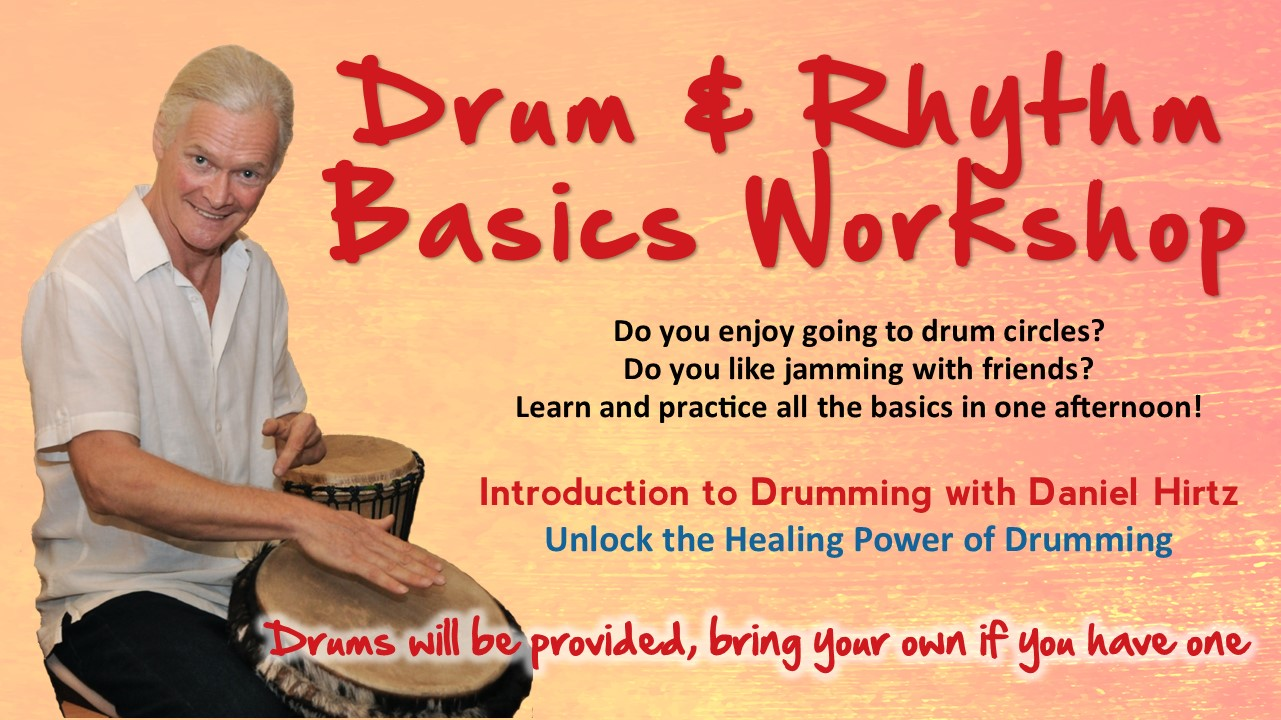 Drum and Rhythm Basics Workshop Sedona May 2020 @ The Pavillions