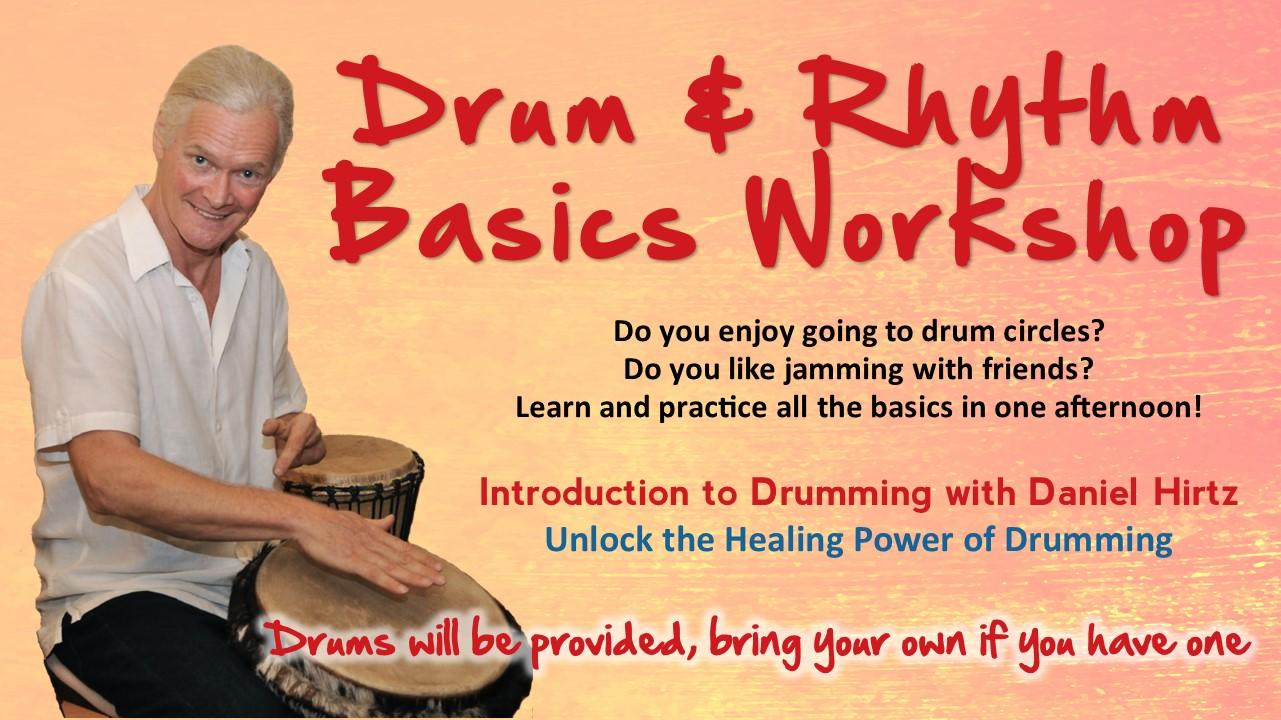 Drum and Rhythm Basics Workshop Sedona May 2020 @ The Pavillions