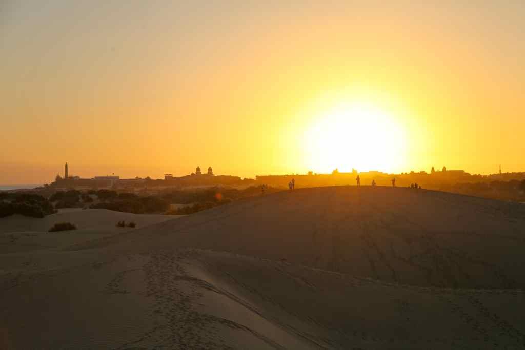 Duft-Reisende – Sonnenuntergang in den Dünen von Maspalomas auf Gran Canaria