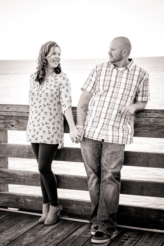 sam-heather-engagement-virginia-beach-nags-head-engagement-photography-photographer-wedding-love-sunset-spring-casual-fun-relaxed-together-ring-beautiful-vibrant-lush-full-black-white-36