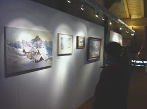 Paintings on show in gallery