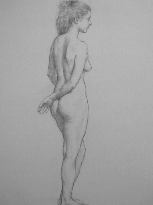 Pencil nude: Sophie